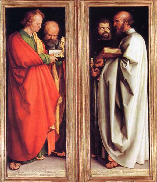 Albrecht Duhrer, Os quatro apóstolos (1526) – Munich - Alemanha